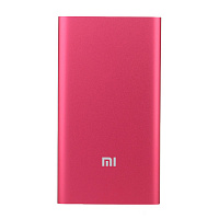 Xiaomi Mi Power Bank 5000 mAh slim (бордовый)
