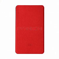 Чехол из микрофибры для Power Bank 5000 mAh Slim (красный)