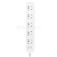 Удлинитель Xiaomi Mi Power Strip 5 Socket (5 розеток, белый/white)