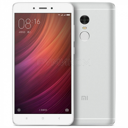 Xiaomi Redmi Note 4  3GB + 32GB (серебристый/silver)
