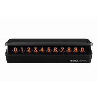 Парковочная карта Xiaomi BCASE TITA Temporary Parking Card Black