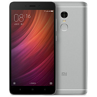 Смартфон Xiaomi Redmi Note 4  4GB + 64GB Snapdragon (серый/grey)