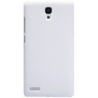 Бампер для Xiaomi Redmi Note Nillkin Frosted (белый)