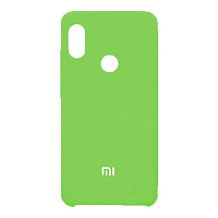 Силиконовый чехол Silky and Soft-Touch Xiaomi Redmi Note 7 (Green-Yellow)