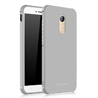Бампер Cocose для Xiaomi Redmi Note 4X (серый/grey)