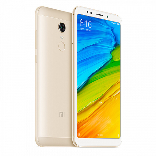 Xiaomi Redmi 5 Plus 3GB+32GB (золотой/gold)