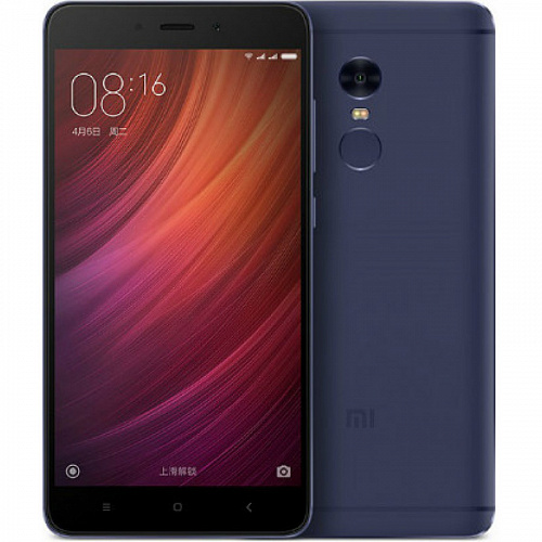 Xiaomi Redmi Note 4  4GB + 64GB (синий/blue)