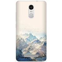 Бампер для Xiaomi Redmi Note 3 (горы)