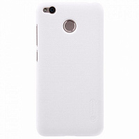 Бампер Frosted Shield для Xiaomi Redmi 4X (Nillkin, белый)